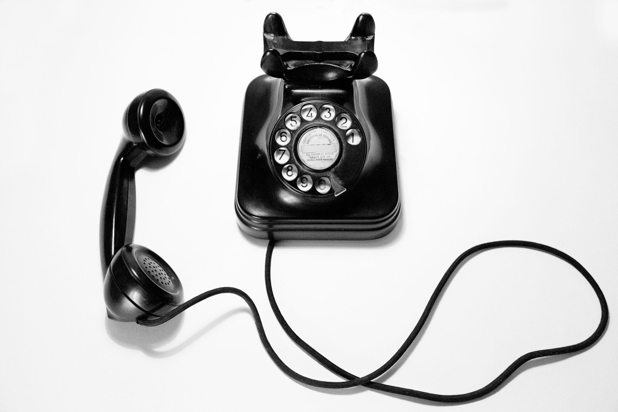 You are currently viewing Sollten wir das Telefon nicht abnehmen…